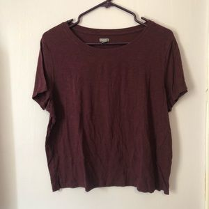 Aerie Cropped Favorite Tee